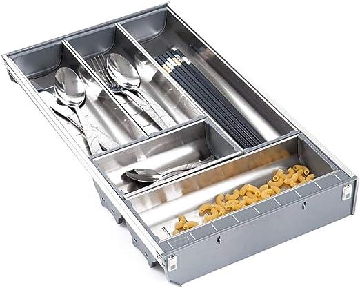 LIZICTSN Cutlery Tray Rack de Almacenamiento Bandeja de Cubiertos ...