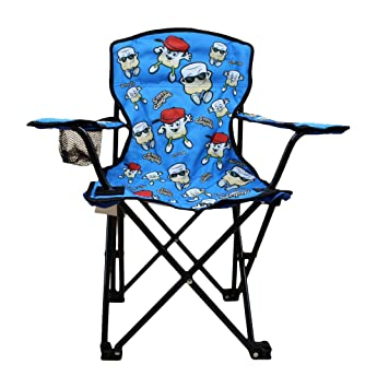 Kid Folding Camp Chairs With Carrying Bag.Wilcor Kids Folding Camp Chair With Cup Holder And Carry Bag Smore Blue