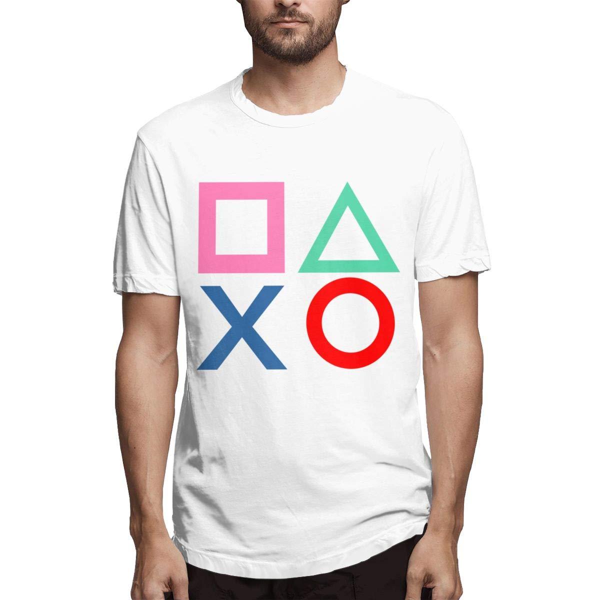 Playstation Joypad Classic T Shirts Short Sleeve 3498