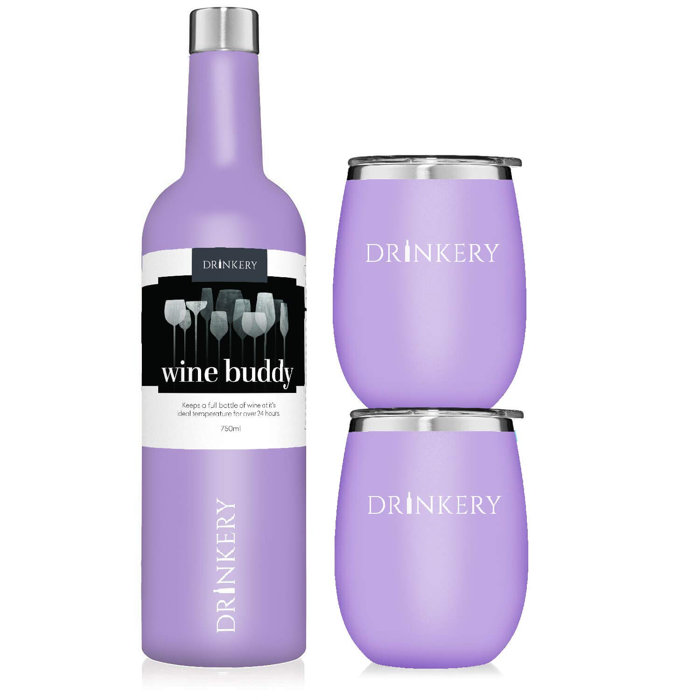 Amazon.com: Juego de vasos de vino, 25.4 fl oz, con ...