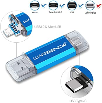 4 In 1 USB Flash Drive OTG PhotoStick For Tpye-C//Lightning//Micro USB 128-512GB
