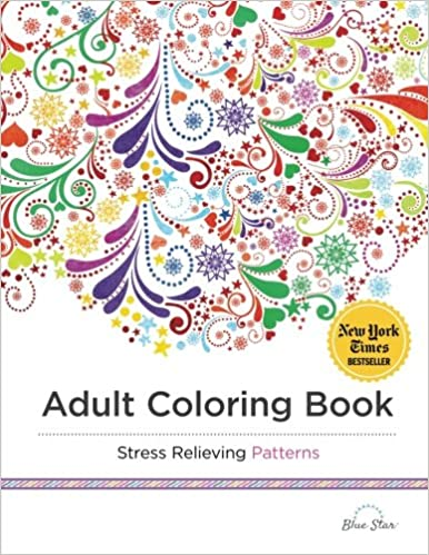 Buy Adult Coloring Book Stress Relieving Patterns Online At Low Prices In India