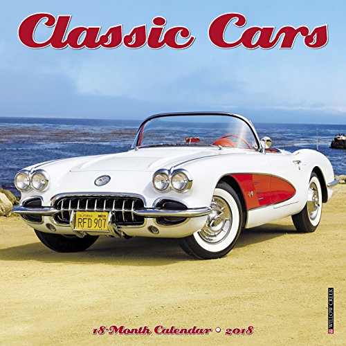 Classic Cars 2018 Calendar (Willow Six Curves)
