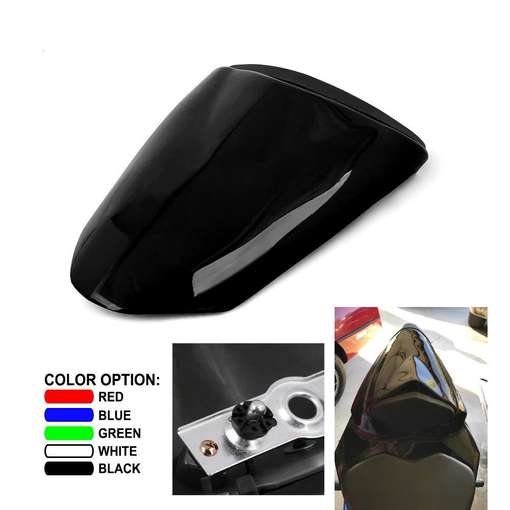 An Xin Motorcycle Black Rear Seat Cowl Passenger Pillion Fairing Tail Cover For Kawasaki NINJA ZX6R 2009-2016