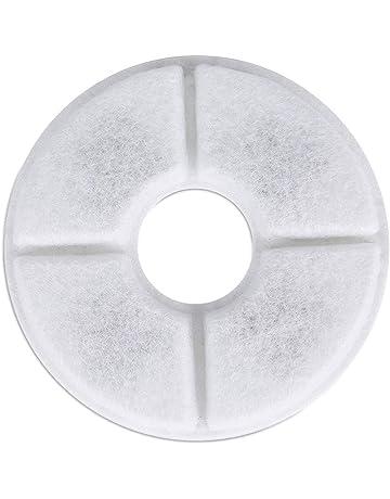Fatalom - Filtros Redondos para Fuente de Agua de Gato, Filtro dispensador de Agua de