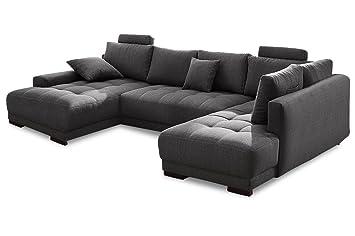 Sofa Couch Nova Via Wohnlandschaft Roberto Mit Schlaffunktion