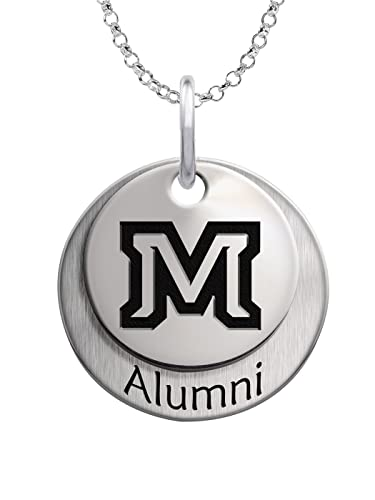 Amazon Com Montana State Bobcats Sterling Silver Stacked Alumni
