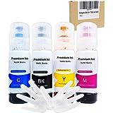 Seogol Compatible T502 Ink Bottle Replacement for Epson 502 Refill Ink for ET-2750 ET-3750 ET-2700 ET-4760 ET-3760 ST-2760 ST-3710 ET-15000 ST-2000 ST-4000 ST-3000 ET-3700 ET-4750(4 Pack)