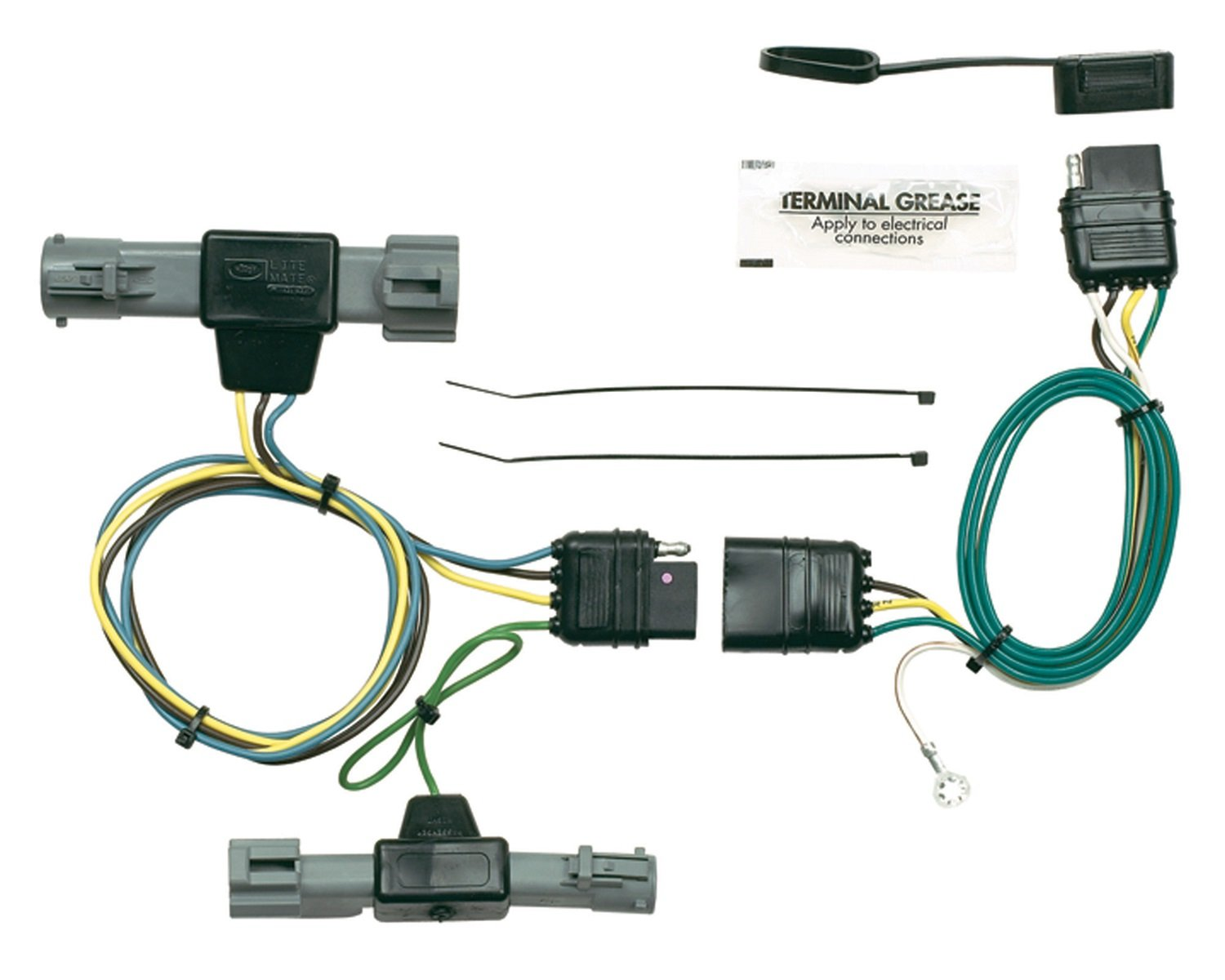 Hopkins 40425 Plug-In Simple Vehicle Wiring Kit Hopkins Towing Solution 52979