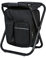 Soonyean Multi-Function Backpack Foldable Chair with Cooler Bag for Fishing, Beach, Camping and Outing