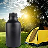 MIFXIN Stainless Steel Water Bottle Double Walled/Vacuum Insulated BPA Free Water Bottle 64oz Wide Mouth Sport Bottle