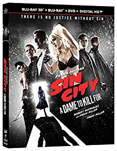 Amazon Com Sin City A Dame To Kill For Blu Ray 3d Blu border=