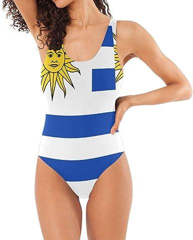 Amazon.com: Chinein Women's One Piece Swimsuits Racing Training Sports  Athletic Swimwear Uruguayan Flag: Clothing