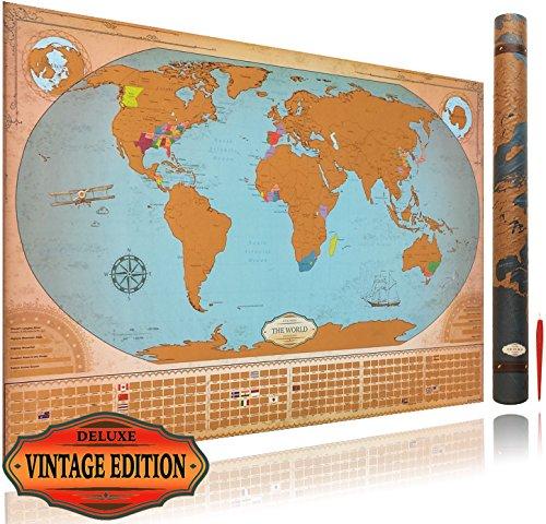 vintage world maps - 7
