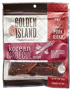 Golden Island Korean BBQ Pork Jerky, 3 oz.: Amazon.com