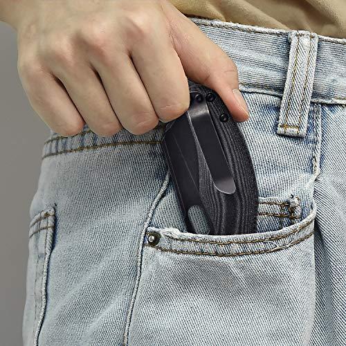 Kizer Knives Pocket Knife with Clip Micarta Handle Material EDC Folding knife Mini Sheepdog, V3488C5