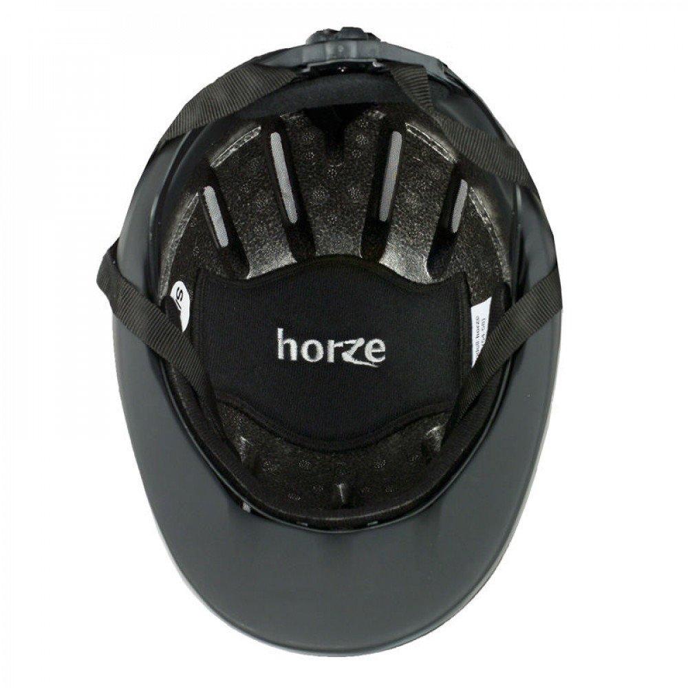 Horze Pacific Reithelm verstellbarer Helm VG1 Defenze, schwarzblau, SM