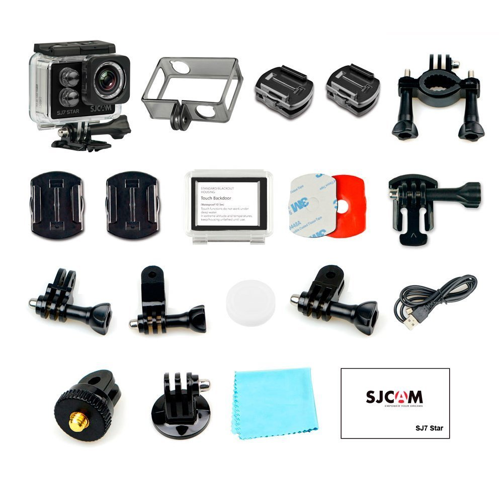 SJCAM SJ7 STAR 4K 12MP 2'' Touch Screen Metal Body Gyro Waterproof Sports Action Camera BLACK by SJCAM (Image #5)