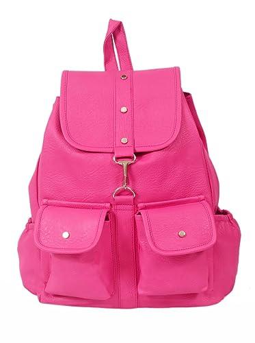 905bb97667f787 Beets Collection Student Shoulder Backpack for Women & Girls Bag (Pink)