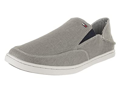 6bdfd888ec484 Tommy Hilfiger Men s Clapton Light Gray FB Slip-On Shoe 7 Men US