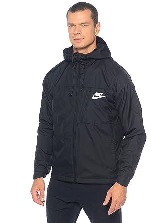 3713d261 New Nike Men's Sportswear Advance 15 Jacket Black/Black/Black/White Large