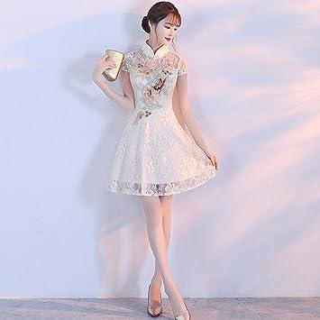 Mom Vestidos Mejorados Cheongsam Temperamento Damas Frescos
