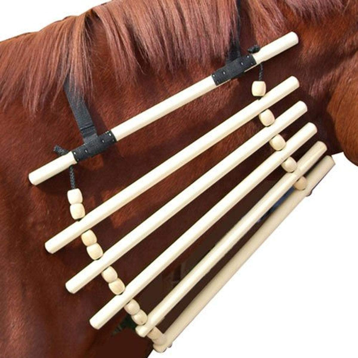 Intrepid International Wooden Horse Neck Cradle