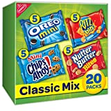 #6: Nabisco Classic Mix Cookies & Crackers Variety Snack Packs, 20 Count Box, 20 Ounce