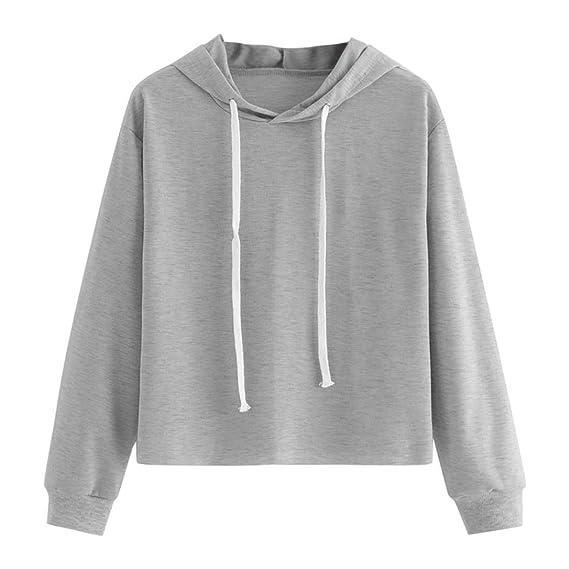 Mujer Sudaderas, ASHOP Blouses For Woman Elegant Polka Dot Modern Sport Hoody Sweatshirt Casual Sudadera