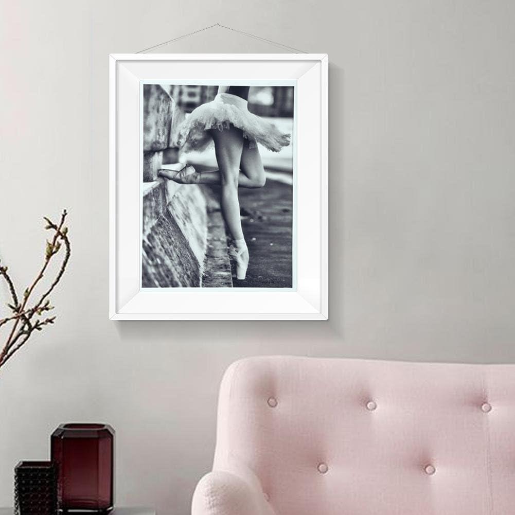 Bild 1 Meilijie Einhorn Schwan Ballerina M/ädchen Bild Ballett Prinzessin Leinwand Malerei Kunst Leinwand Malerei nordische Baby Kinder Schlafzimmer Dekoration A1 60x85cm No Frame