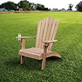 Cambridge-Casual AMZ-240309T Arie Adirondack Chair, Teak