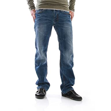 verschiedene Arten von riesige Auswahl an 100% Qualitätsgarantie M.O.D Jeans Men - Thomas - Long Cay Blue Hosengröße 33/32 ...