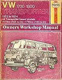 img - for Volkswagen Transporter 1700/1800 1972-1974 Owner's Workshop Manual book / textbook / text book
