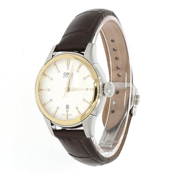 Oris Artelier Mujer bicolor Reloj Automático con 12 diamantes
