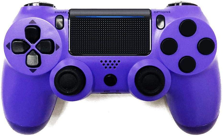 Controlador de juego inalámbrico | 2020 Joystick Bluetooth / controle Joystick inalámbrico Playstation Controller / videojuego / Gamepad para Ps4 / playstation 4-Purple-: Amazon.es: Videojuegos