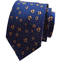 MENDENG Men's Jacquard Floral Flower Dot Suit Business Bridegroom Ties
