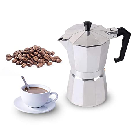 Amazon.com: Cafetera italiana Moka de 1/3/6/9/12 tazas, para ...