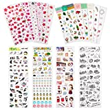 #3: Knaid Planner Stickers Value Pack - Decorative Sticker Collection for Scrapbooking, Calendars, Arts, Kids DIY Crafts, Album, Diary, Bullet Journals (Assorted 1200 PCS, 36 Sheets)