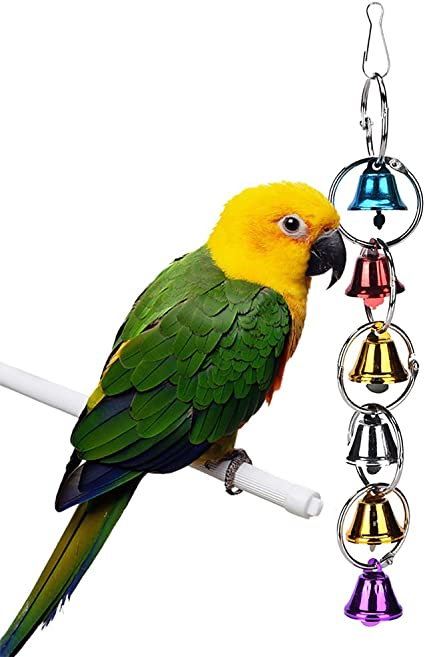 Toy Colorful Toys For Parakeet   Budgie  Parrot   Bird Swing Cage Chain