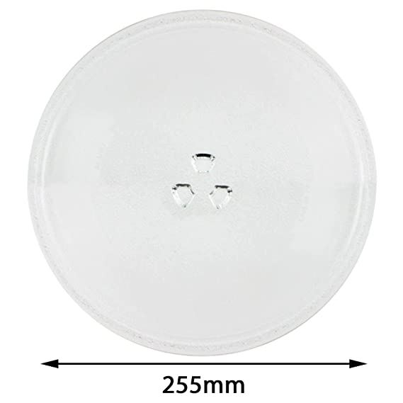 Spares2go Universal Glass Turntable Plate for all makes of ...