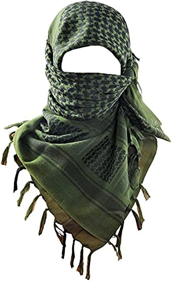 100/% Cotton SHEMAGH HEADSCARF Colour Option Military Keffiyeh Army Wrap*Arab