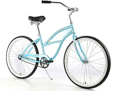 Knus Beach Cruiser Bicicleta Urbana de 26 Pulgadas para Hombre y Mujer: Amazon.es: Deportes y aire libre