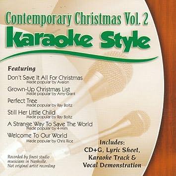 My Grownup Christmas List Lyrics.Various Artists Daywind Karaoke Style Contemporary