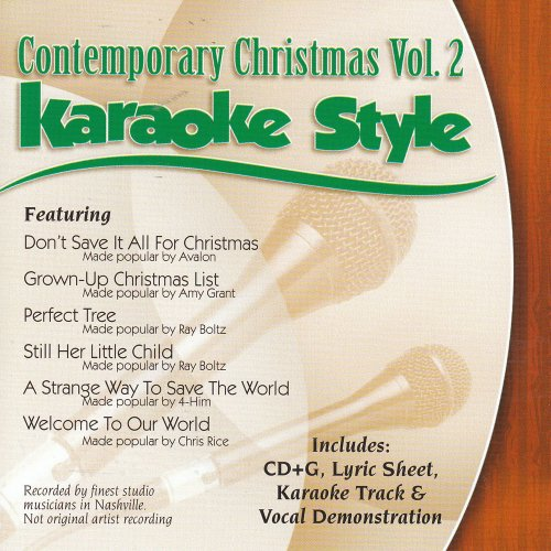 Daywind Karaoke Style: Contemporary Christmas, Vol. 2 ()
