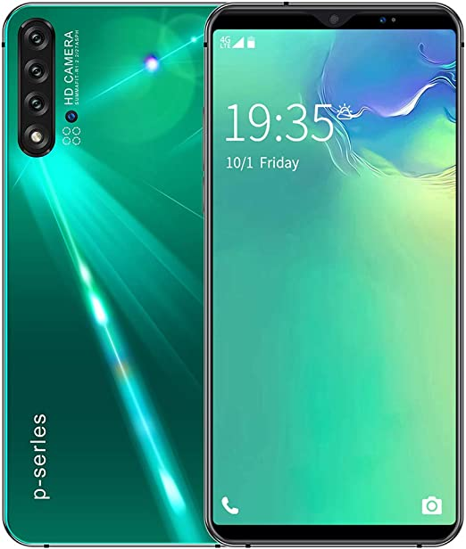 GJRPhone Nowa5 Pro Smartphone 6.1 Android 9.1 HD Cámara Face ID Desbloqueo SIM Dual SIM Dual Standby 8GB + 128GB,Verde,USplug: Amazon.es: Hogar