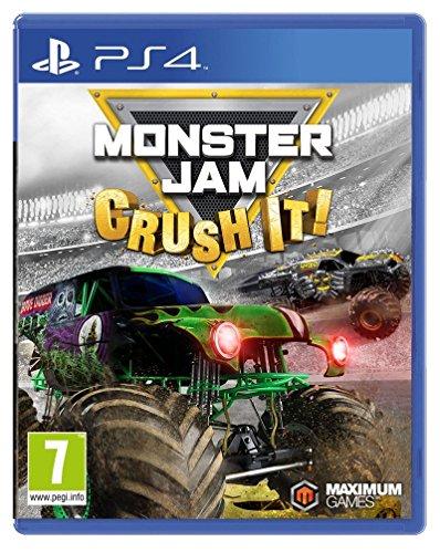 Monster Jam   Crush It  Ps4