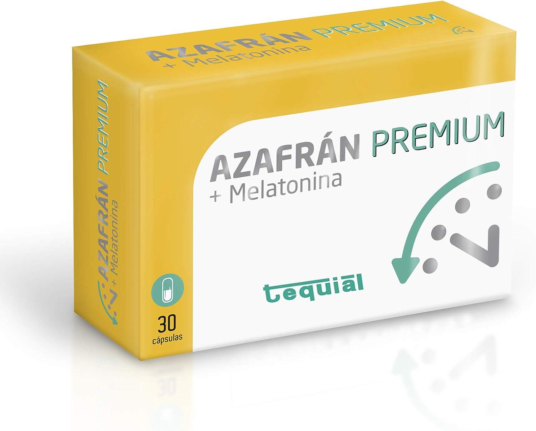 Tequial Azafran Premium 30 Capsulas - 1 Unidad: Amazon.es: Salud y cuidado personal