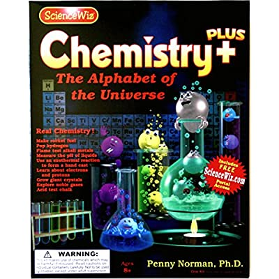 Science Wiz - Chemistry Plus Experiment Kit: Toys & Games