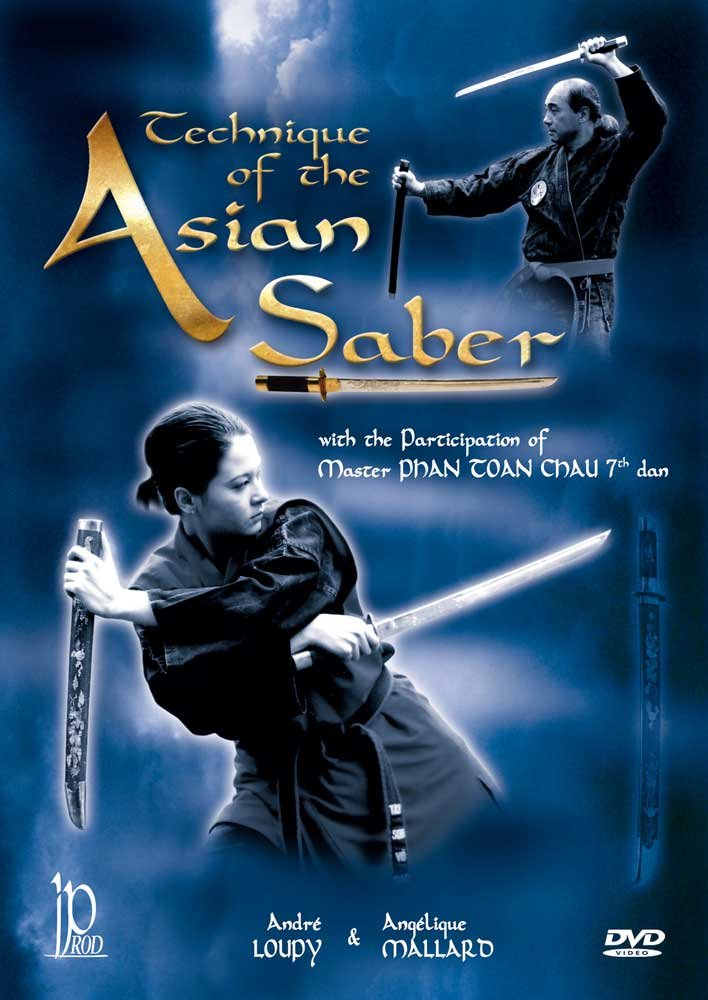 DVD : Technique Of The Asian Saber Sword (DVD)