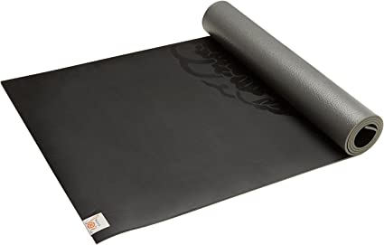 Amazon Com Gaiam Sol Dry Grip Yoga Mat Black 5mm Sports Outdoors